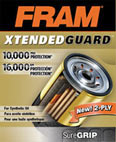 FRAM Xtended Guard oil filter box front