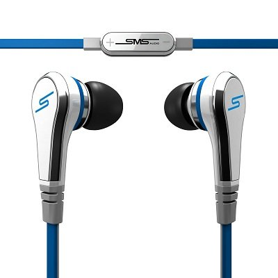 by 50 Cent Wired In-Ear Headphones - White by SMS Audio: Electronics