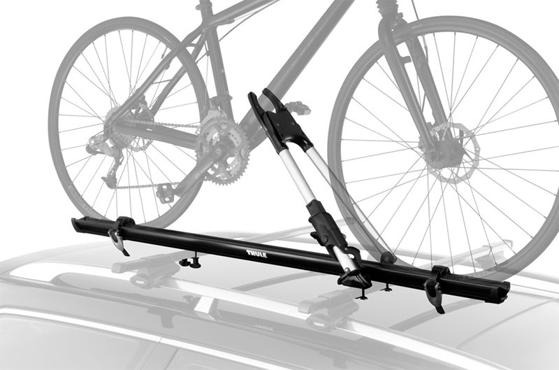 Amazon Com Thule 599xtr Big Mouth Upright Rooftop Bicycle
