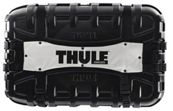 An outer frontal view of the Thule 699 Round Trip Bicycle Travel Case