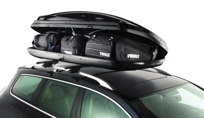 1600 Rooftop Cargo Box (Silver) : Bike Cargo Boxes : Sports & Outdoors
