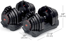 Bowflex 1090 Dimensions