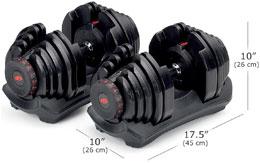 Bowflex 1090 Dimensions