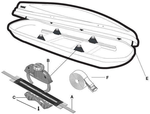yakima rack removal instructions