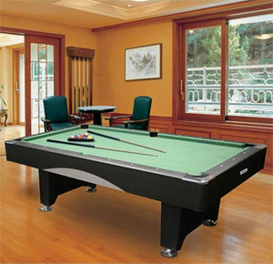 Pool Table Room Size Minnesota Fats Saratoga Foot Billiard - Ideal room size for pool table