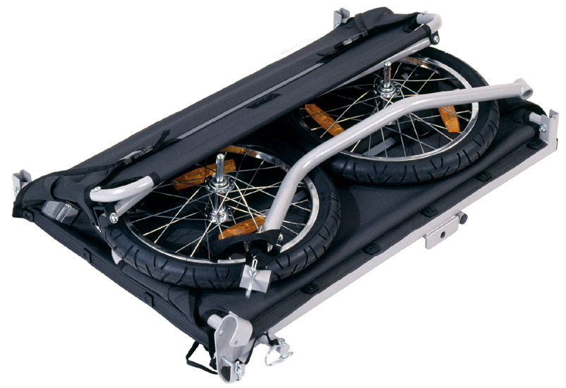 Amazon.com : Croozer Designs Cargo Trunk Bicycle Trailer : Cargo Carrier Bike Trailers : Sports