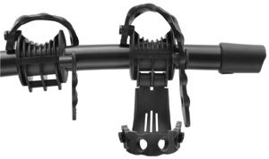 The Hold Fast cradles and anti-sway cages of the Thule Vertex 9028 2-bike hitch rack