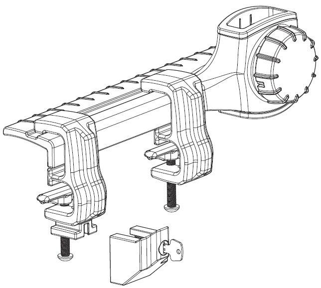 amazon com   thule xsporter pro toyota tacoma adapter