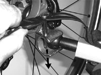 The Chariot bicycle trailer conversion kit installation image 3