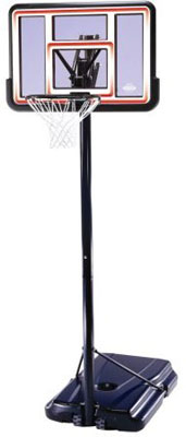 Lifetime basketball replacement parts lifetime 1269 pro for Sport court basketball hoop