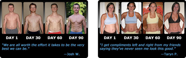 P90X Weight Loss