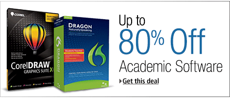 Up to 80% Off Software for Students