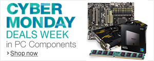 Cyber Monday Deals Week in PC Components