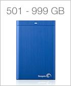 501 - 999 GB