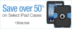 50% or More Off Select iPad Cases
