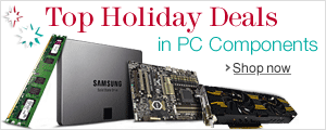 Top Holiday Deals in PC Components
