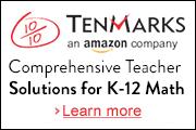 Tenmarks Free Math Platform for Teachers