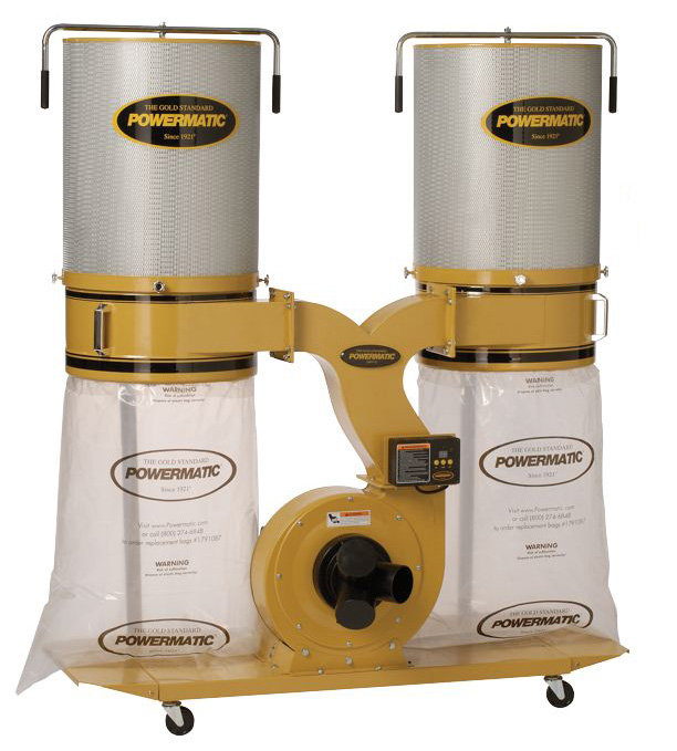 Powermatic Pm1900tx Ck1 Dust Collector 3hp 1ph 230 Volt 2