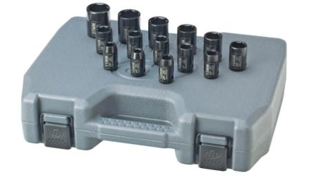 Ingersoll Rand SK4M14 impact sockets with case