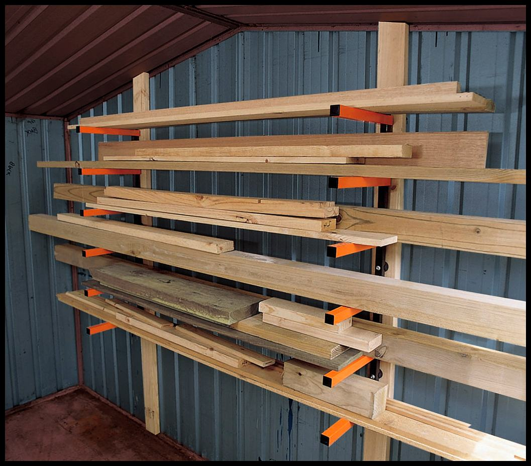 Woodworking Wood Storage Ideas