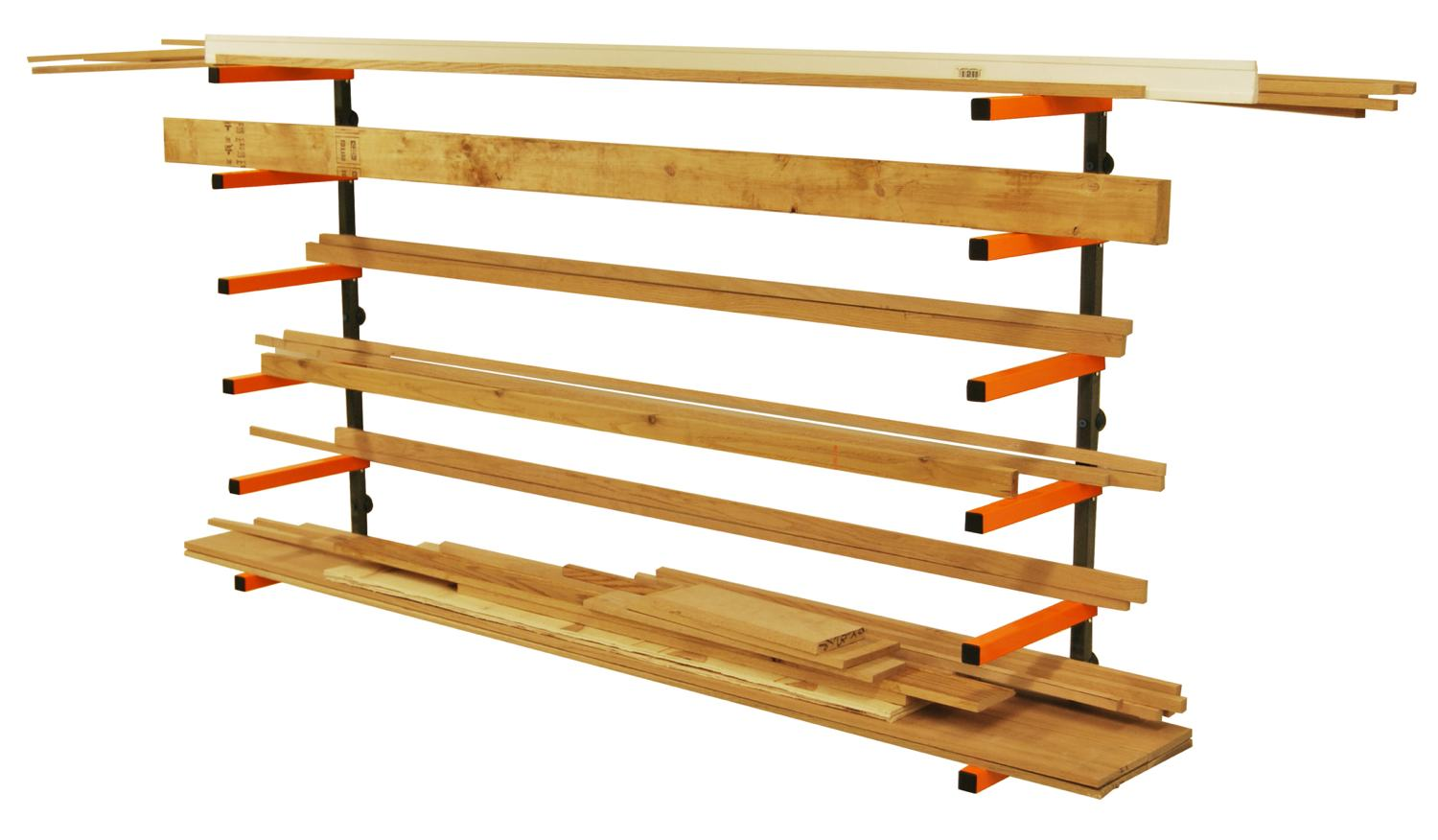 Pbr 001 white for Lumber yard storage racks