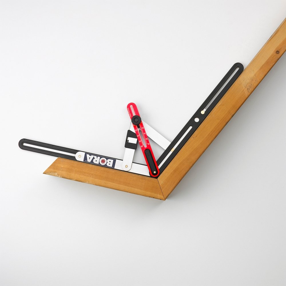 The Angle Master allows you to make mitered cuts with ease ( click to