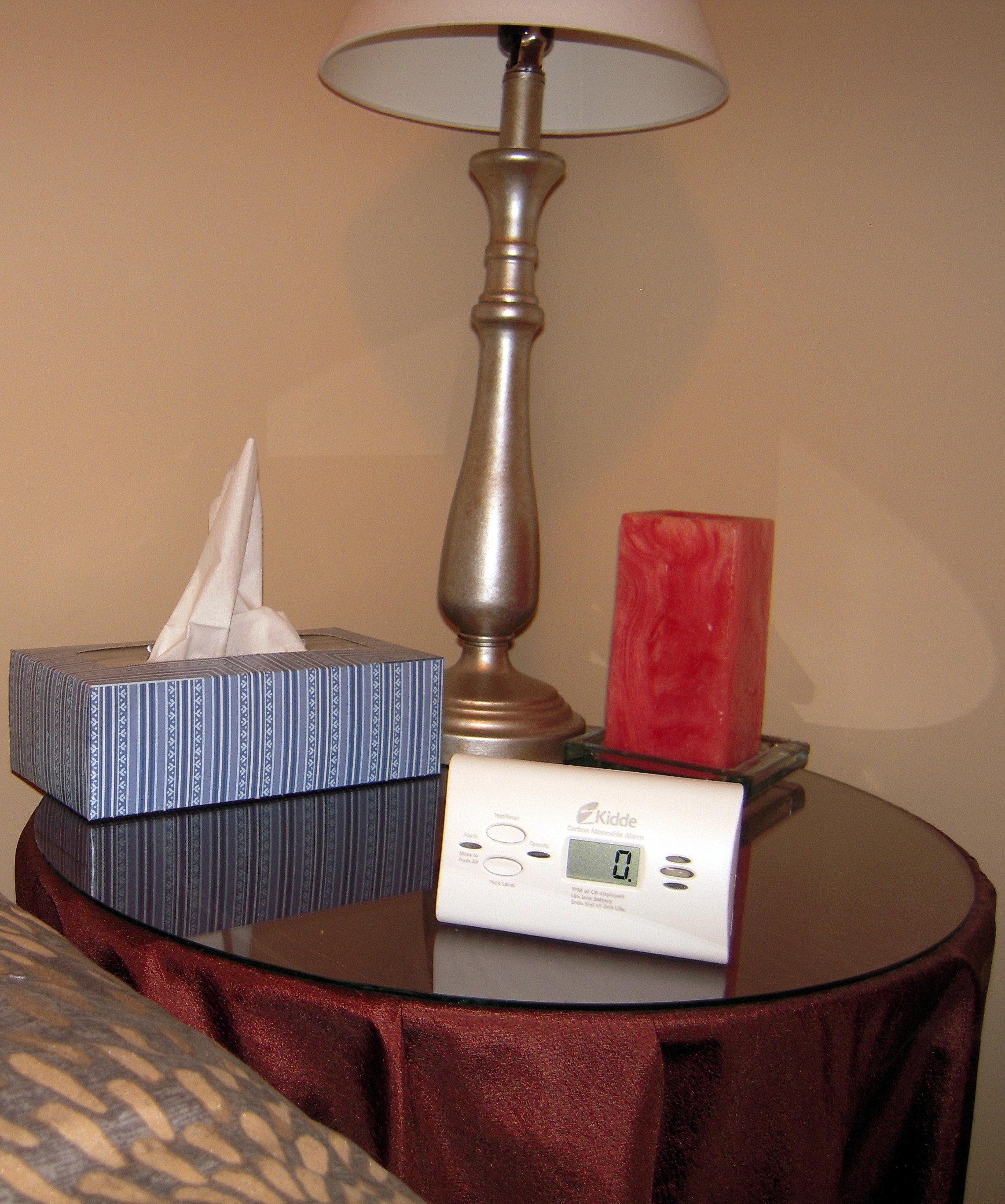 Kidde's KN-COPP-LPM carbon monoxide detector is a free-standing unit