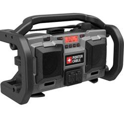Porter-Cable's PC18JR jobsite radio