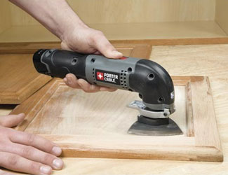 Porter-Cable PCL120MTC-2 oscillating tool kit