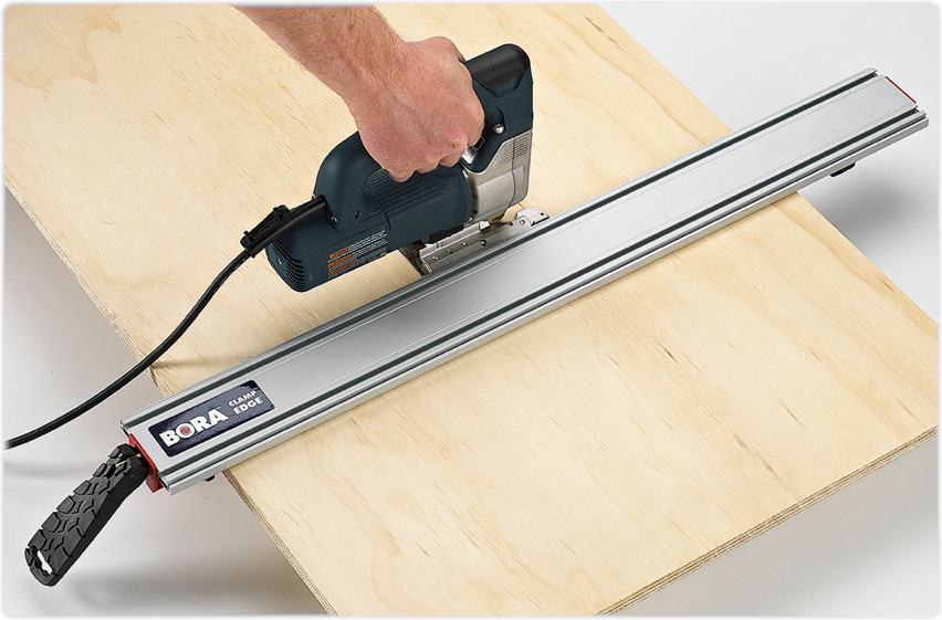 Bora 541024 Clamp Edge Power Tool Guide, 24-Inch; Straight Edge for