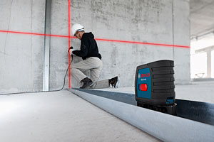 Bosch GLL2-40 self-level cross-line laser
