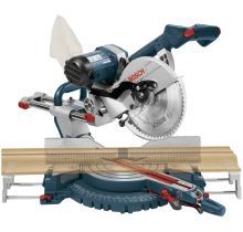 Bosch 10-inch Dual Bevel Slide Miter Saw with Upfront Controls