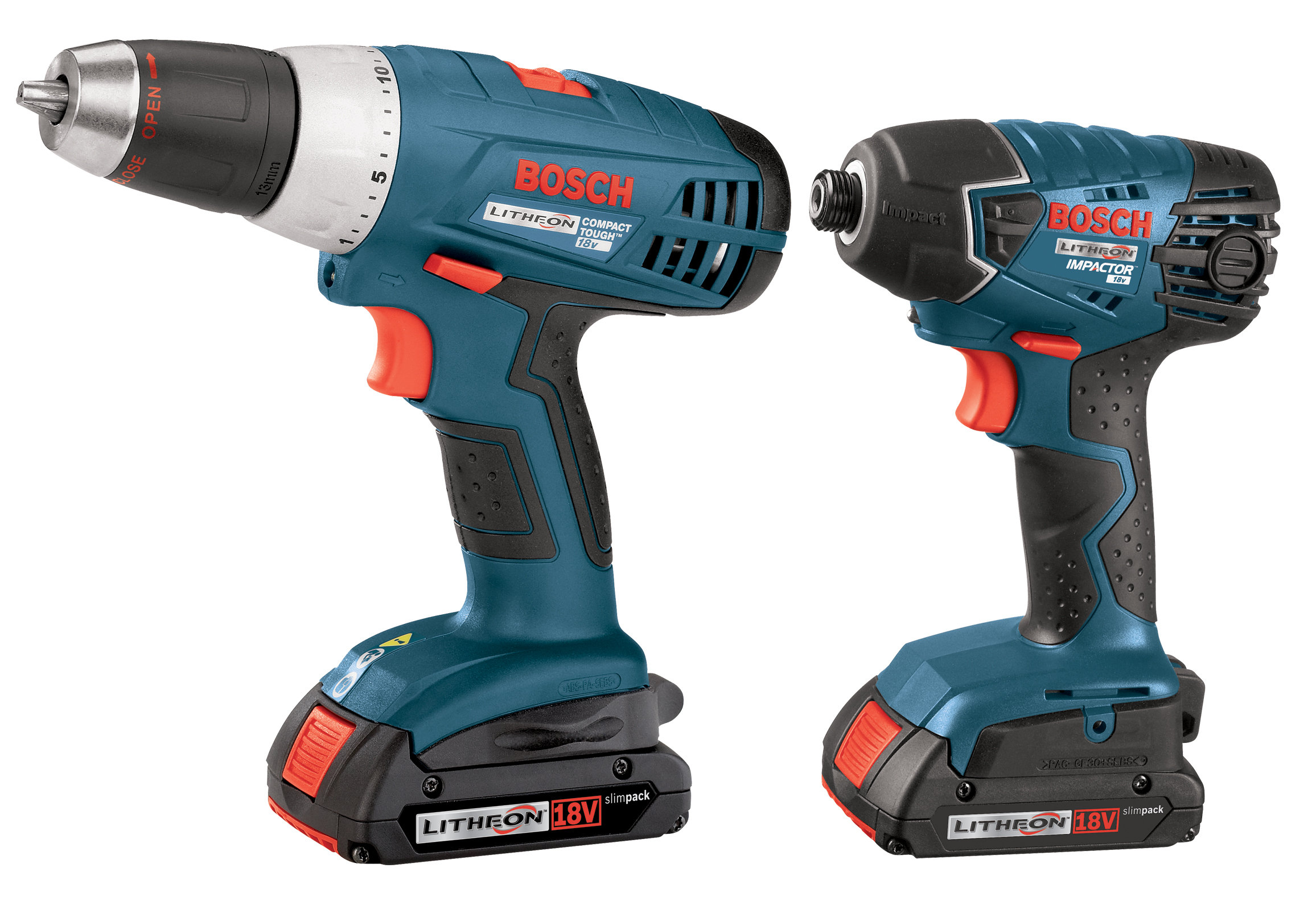 Bosch's CLPK23-180 18-volt lithium-ion drill and impact driver combo