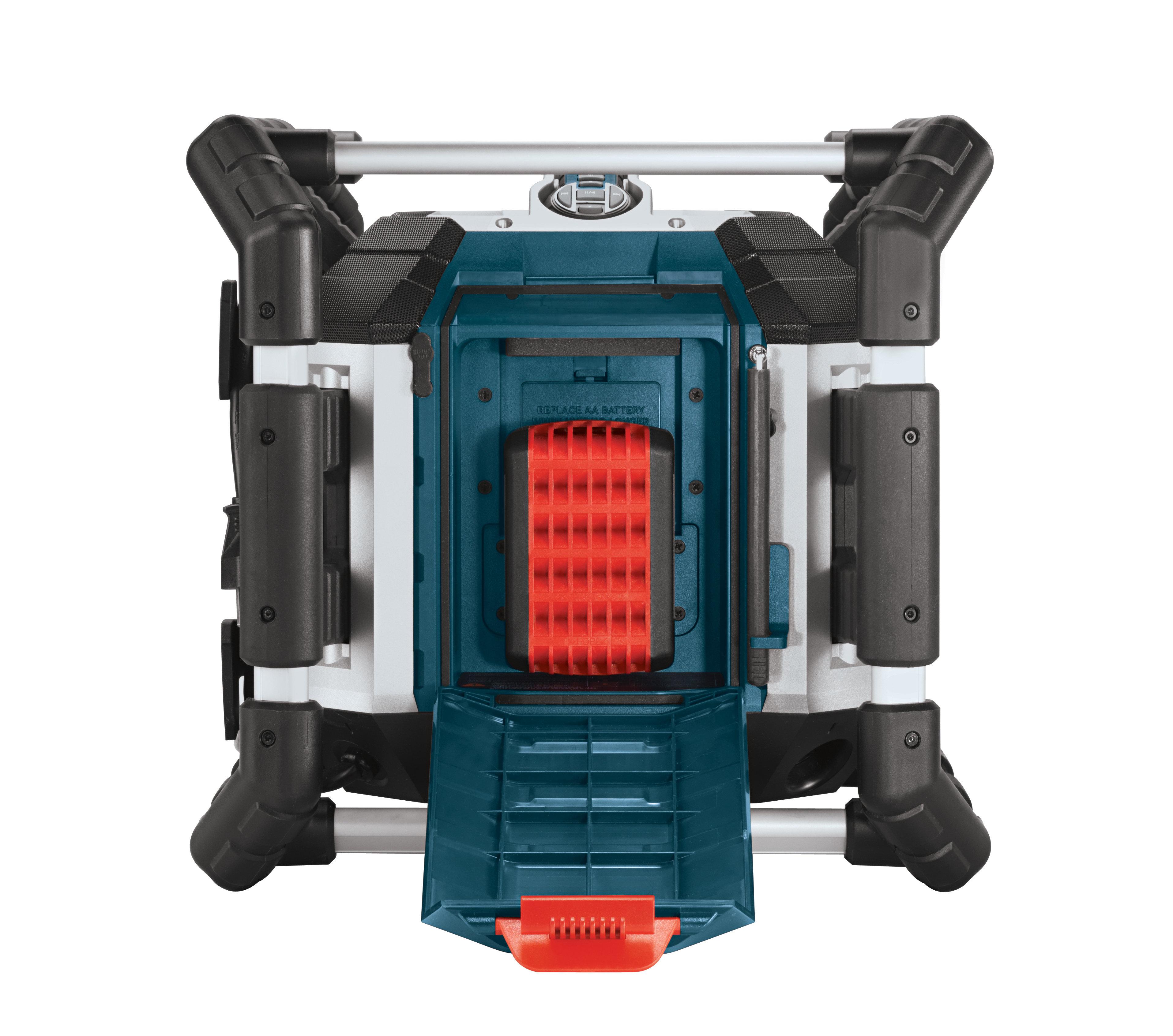 bosch pb360d cordless power box jobsite radio slim. Black Bedroom Furniture Sets. Home Design Ideas