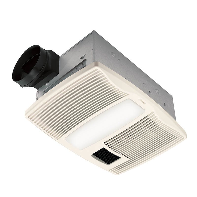 ultra silent series bath fan with heater and light home improvement