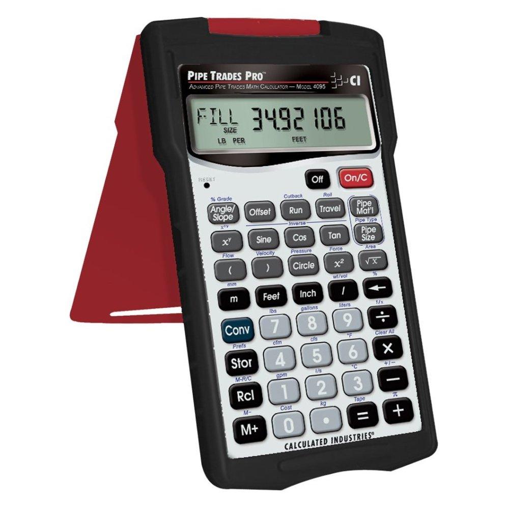 Amazon.com: Pipe Trades Pro 4095 Advanced Pipe Trades Math Calculator: Home Improvement
