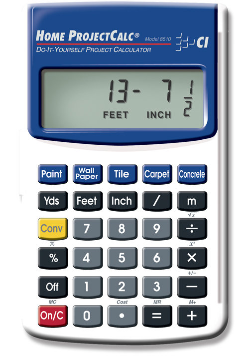 Calculated industries 8510 home projectcalc do for Material calculator for house