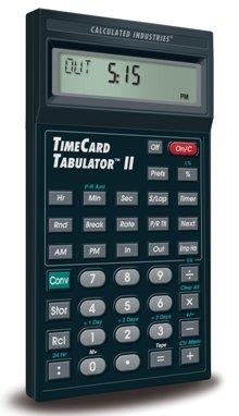 9530 TimeCard Tabulator II