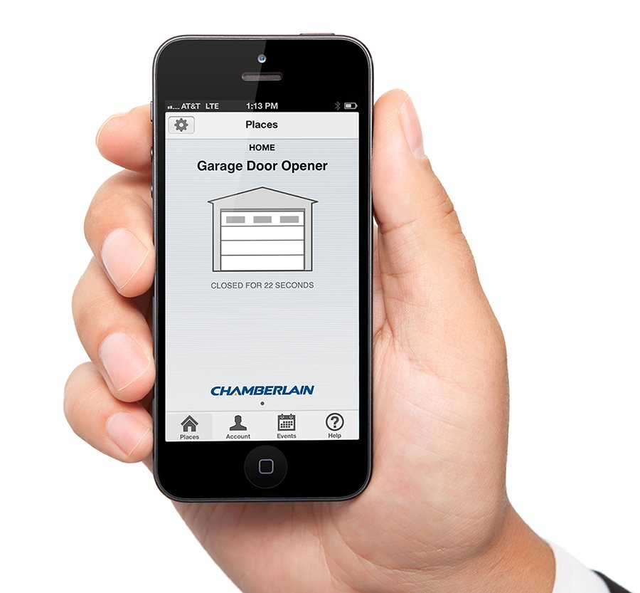 Chamberlain garage door app