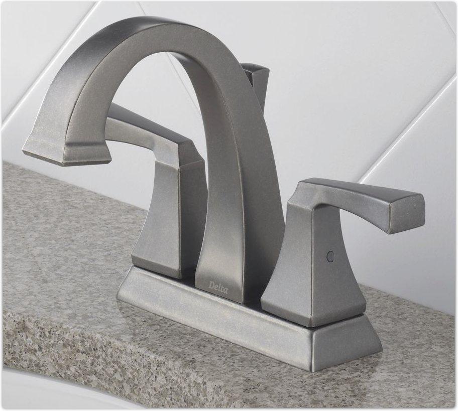 Delta 2551lf Dryden Two Handle Centerset Lavatory Faucet