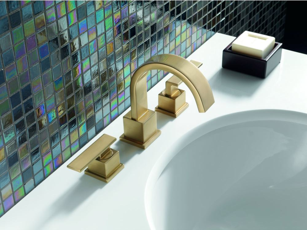 Give your bath a high-end, modern look with Delta's Vero line ...