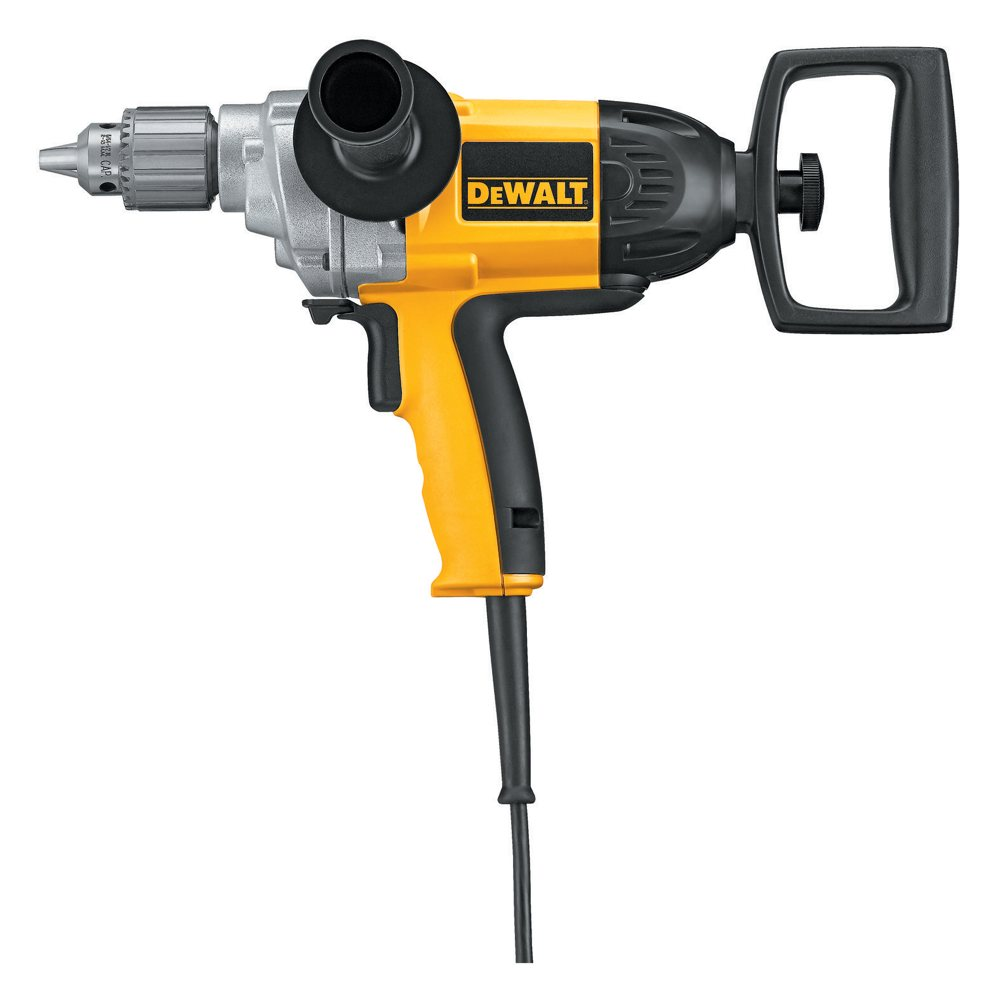 dewalt dw130v 9 amp 1 2 inch drill with spade. Black Bedroom Furniture Sets. Home Design Ideas