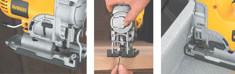 dewalt DC330B trio sm Dewalt Cordless Jig Saw Review