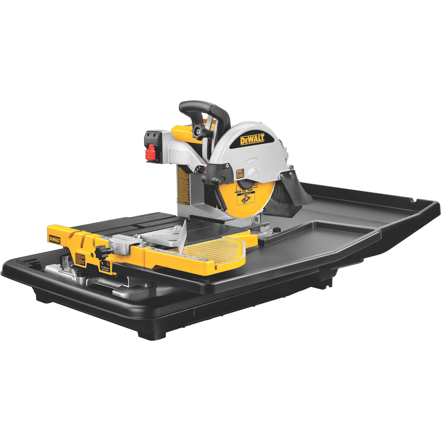 Dewalt D24000 1 5 Horsepower 10 Inch Wet Tile Saw Power