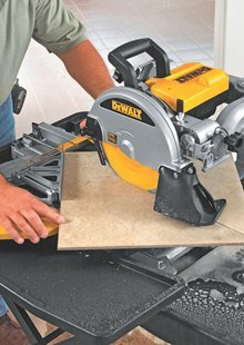 DEWALT 10-Inch Wet Tile Saw