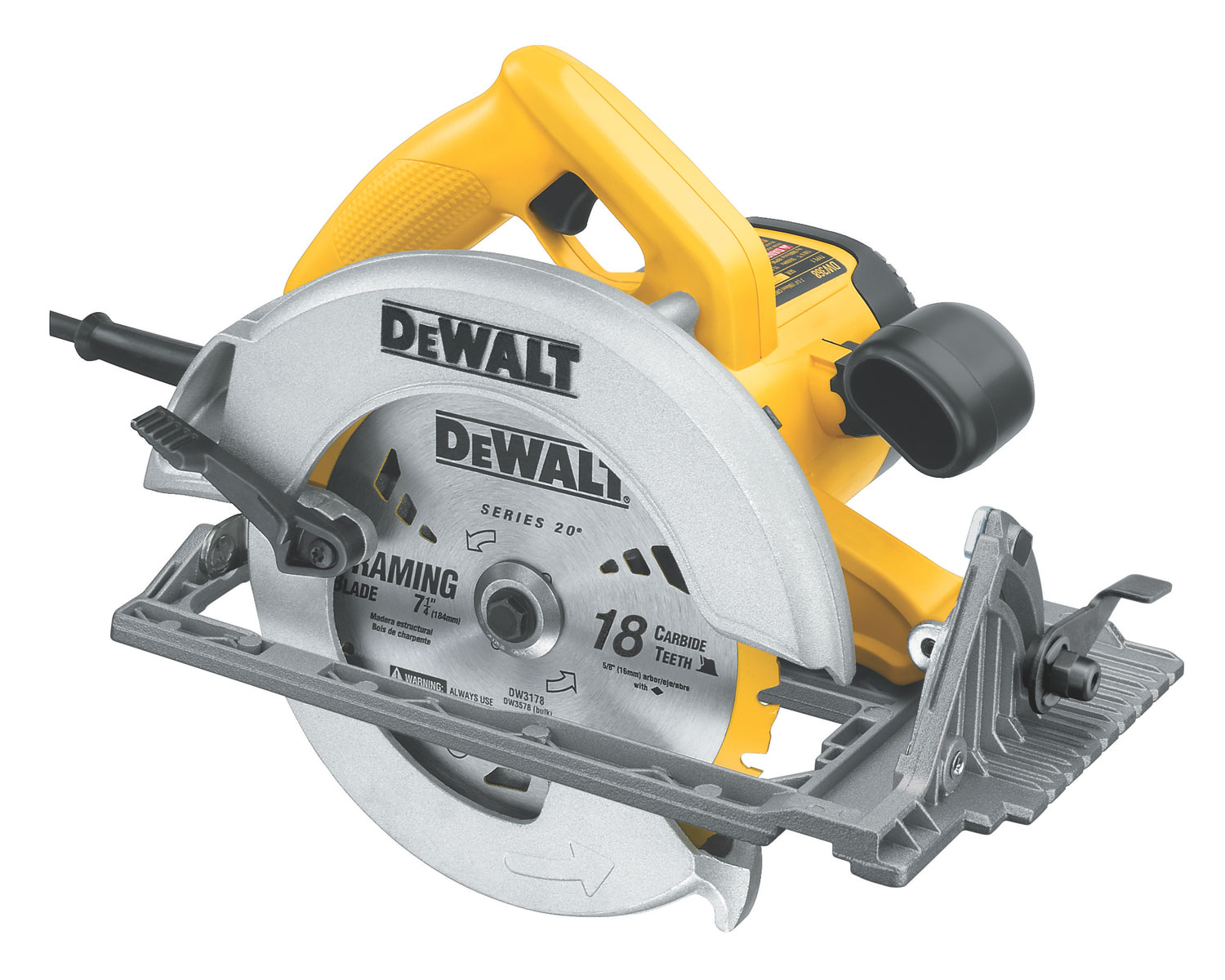 Amazon.com: DEWALT DW368K Heavy-Duty 7-1/4-Inch ...