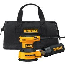 DEWALT 5-Inch Variable Speed Random Orbit Sander Kit