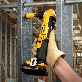 DCD740C1 20-volt max lithium-ion compact 1.5 Ah right angle drill