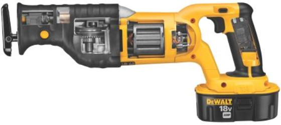 DEWALT DC385K 18-Volt Cordless XRP Ni-Cad Reciprocating Saw Kit
