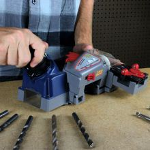 DDSB spade and twist drill-bit sharpener